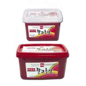 WANG TAEYANGCHO RED PEPPER PASTE태양초 찰고추장 1KG 10075