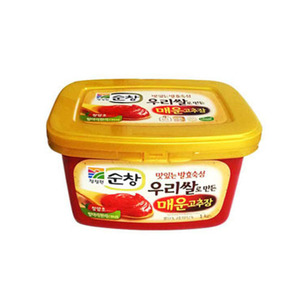 DAEDANG SOONCHANG RED PEPPER PASTE순창매운고추장 1KG CW112