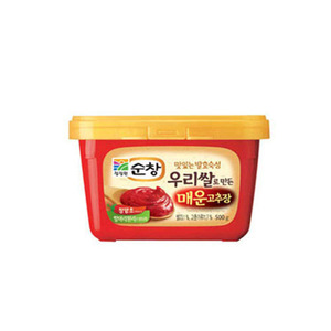 DAESANG SOONCHANG RED PEPPER PASTE 순창매운고추장 500g CW115