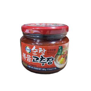 SURASANG ROASTED RED PEPPER PASTE 찹쌀볶음고추장500g 07710