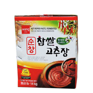 WANG SOONCHANG RED PEPPER PASTE 순창찹살고추장 14KG  16901