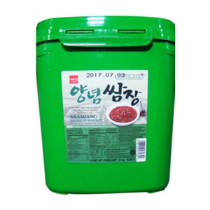 WANG PREPARED SOY BEAN PASTE 쌈장 14KG  27434
