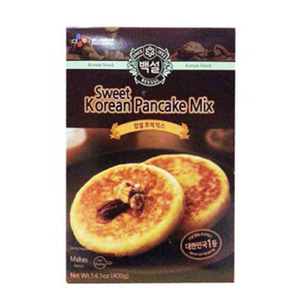 BAEKSUL SWEET KOREAN PANCAKE MIX 찹쌀호떡믹스 400g  BS0358