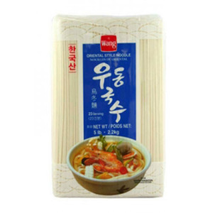 WANG U-DONG NOODLE 우동국수 5Lbs  00816