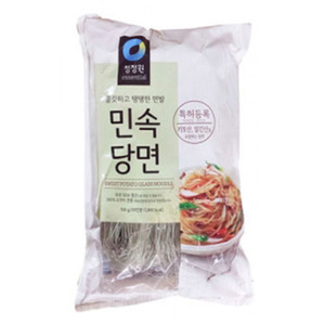 DAESNG GLASS NOODLE 청정원민속당면 500g  cwc212
