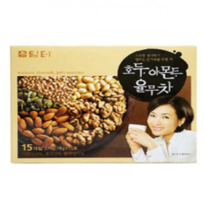 DAMTER WALNUT, ALMOND&JOB'S TEARS TEA 호두아몬드율무차 15ea18g 16198