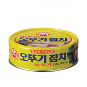 OTTOGI CANNED TUNA-LIGHT STANDARD-L 참치라이트스탠다드L 250g   08980