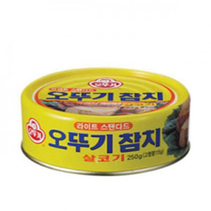 OTTOGI CANNED TUNA-LIGHT STANDARD 참치라이트스탠다드 150g   04296