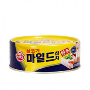 OTTOGI CANNED TUNA, MILD 마일드참치 250g   09858