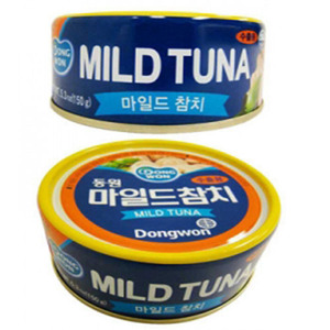 OTTOGI CANNED TUNA, MILD 마일드참치 150g   10362