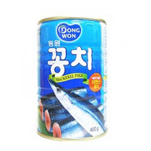DONGWON CANNED PACIFIC SAURY 동원꽁치캔 400g   DW121