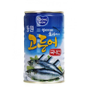 DONGWON CANNED MACKERL 고등어캔 400g   DW123