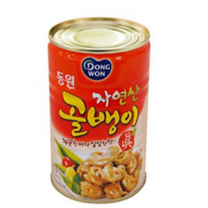 DONGWON CANNED TOP SHELL 골뱅이캔 400g    DW120