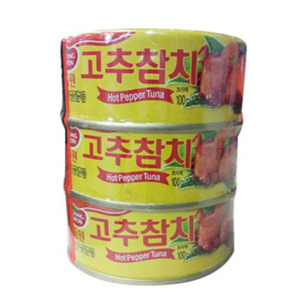 DONGWON CANNED TUNA HOT 고추참치 300g   DW147
