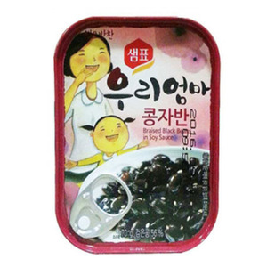 SEMPIO CANNED BRAISED BLACK BEAN 콩자반 70g   SP053