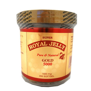 [CANADA] ROYAL JELLY GOLD 1500mg 200Softgels    HS133