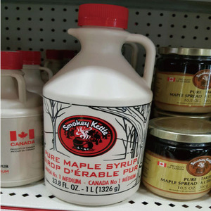 [CANADA] SMOKEY KETTLE MAPLE SYRUP 메이플 시럽 1L