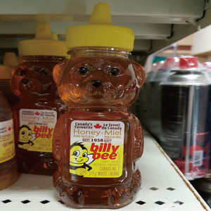 [CANAD] BILLY BEE PURE HONEY BEAR 꿀 375g