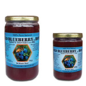 [CANADA] BLACK BEAR RAW BLUEBERRY HONEY 블루베리꿀 1KG