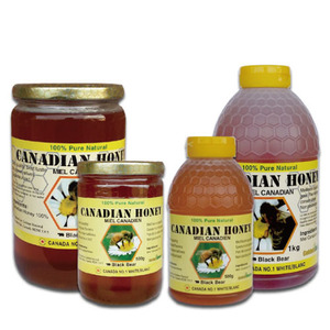 [CANADA] NATURAL CANADIAN HONEY 1KG
